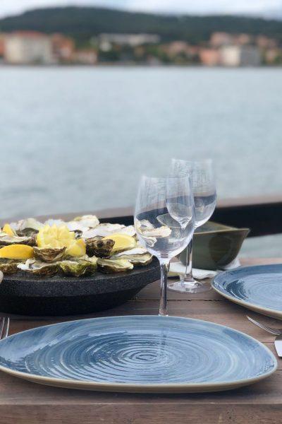 Dégustation huîtres Giol Tamaris